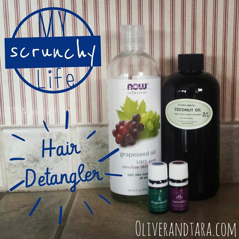 Scrunchy Diy Hair Detangler Oliver Tara