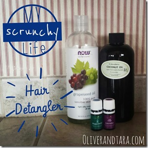 Hair Detangler recipe using essential oils by doTerra or Young Living! | found on oliverandtara.com
