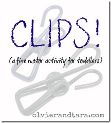 A simple activity to help your toddler develop their fine motor skills! And you can buy the materials at the dollar store! | found on http://www.oliverandtara.com #moms #parenting #activities