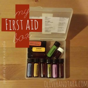 Essential Oils First Aid Box | http://www.oliverandtara.com