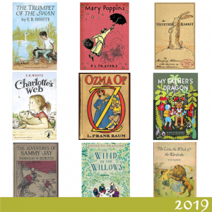 2019 Reading List for Pip and Liv