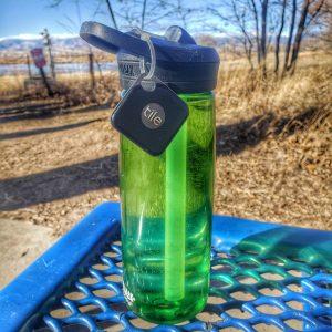 Using a TILE Pro to keep track of water bottles on adventures | oliverandtara.com