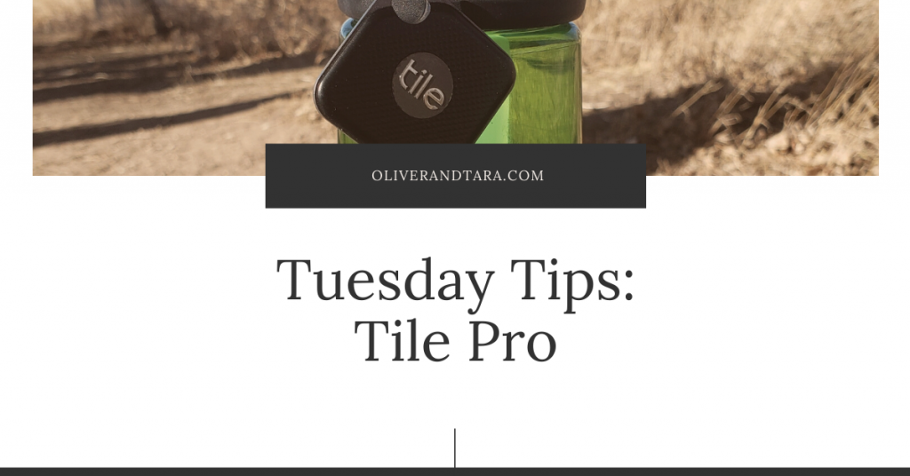 Tuesday Tips: Tile Pro – Stop losing your water bottles while on the go!
