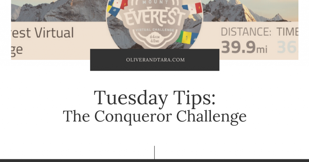 Tuesday Tips: We hike for the bling – using virtual races for fun and learning